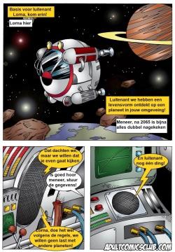 Adult Comics Club - Lorna Space Encounter